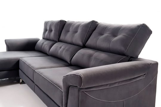CHAISE LONGUE BLACK B